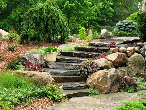 Happening Hardscapes Walkways Walls Steps And Borders For