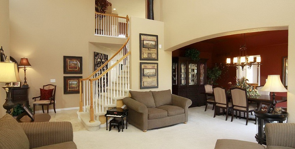 After you ve met with a builder s onsite sales staff you for Pictures of model homes inside